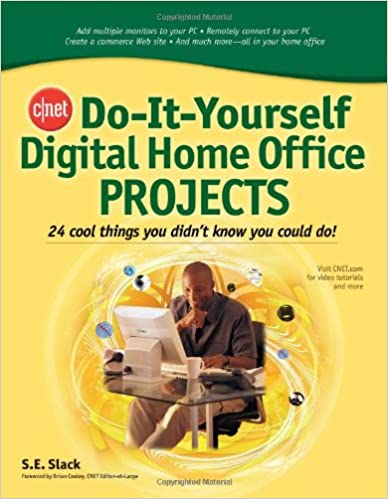 Genial CNET Do It Yourself Digital Home Office Projects: 24 Cool Things You Didnu0027t  Know You Could Do! 1st Edition