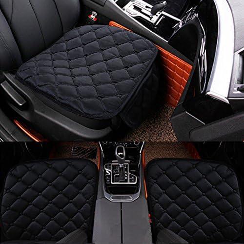 Hcmax Weich Autositzüberzug Kissen Pad Matte Schutz Für Autozubehör Für Limousine Fließheck Suv 2 1 Vordersitzbezüge Und Rücksitzbezüge Auto