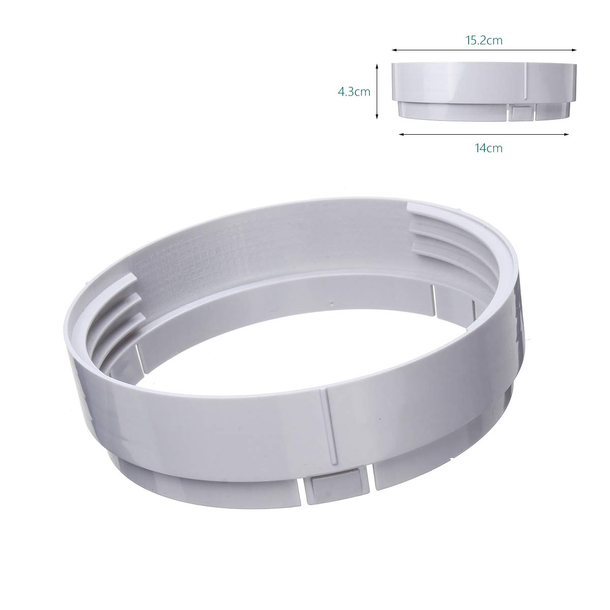 ExcLent 15Cm Window Adaptor Tube Connector For Portable Air Conditioner Exhaust Kit Plate