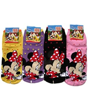 2 Piece Minnie Mouse Socks (Size 9-11) - Assorted Childrens Socks
