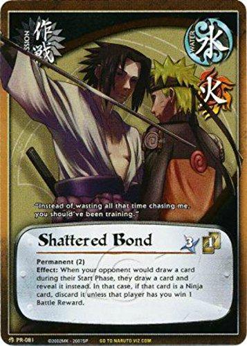 Naruto Card - Shattered Bond 081 - Collector's Tin - Super Rare - Foil
