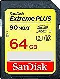 Sandisk Extreme Plus SDXC 64GB C10 Flash Memory Card (SDSDXSF-064G-ANCIN)