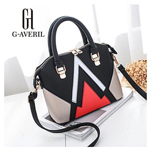 G-AVERIL - Bolso mochila  para mujer rosa rosa negro