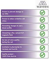 Amazon com: Waveex - 3 pcs  Sticker-Shielding of Cell Phone