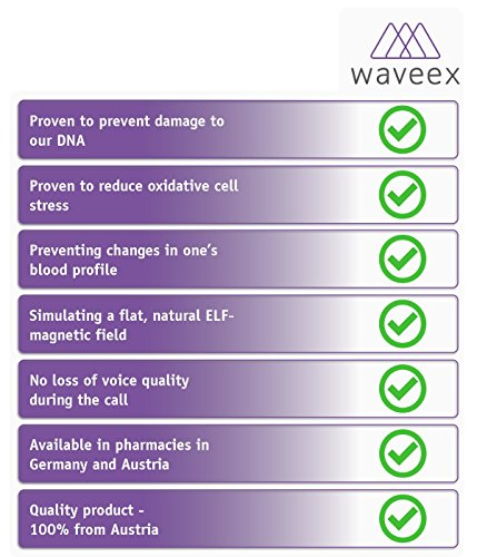 Waveex - 5 pcs. Sticker-Shielding of Cell Phone electromagnetic Field Radiation Exposure- electromagnetic Fields EMF | Neutralizes Radiation Protection Harmonization | Mobile Phone Accessories ... by Waveex (Image #3)