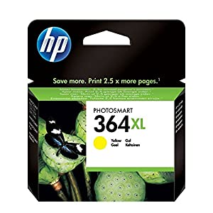 HP 364XL Yellow Ink Cartridge Amarillo cartucho de tinta - Cartucho de tinta para impresoras (Amarillo, HP Photosmart… 10