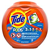 Tide PODS Liquid Laundry Detergent Pacs, Original, 42 count