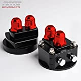 2PCS Oil Filter Relocation Male Sandwich Fitting