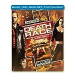 Death Race (Steelbook) (Blu-ray + DVD + Digital Copy + UltraViolet)