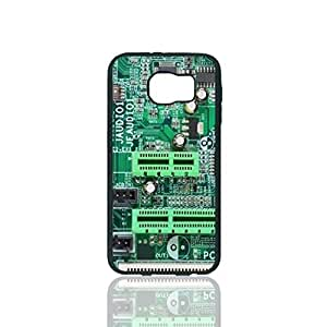 Computer Motherboard Custom Hard Plastic back Phones Case for Samsung Galaxy S6 - Galaxy S6 Case Cover