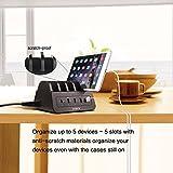 Station de Recharge Intelligente 10 Ports USB - Noir