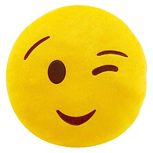Smiley Cushion Stuffed Emoticon Decoration