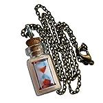 UMBRELLALABORATORY Hourglass Fairy Glow in The Dark Necklace Bottle 7