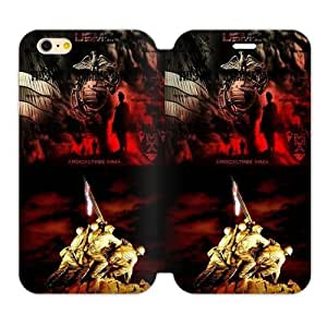 Fantasy Fashion Design Marine Corps Metal Pattern Iphone 6 4.7 Case Shell Cover (Laser Technology)