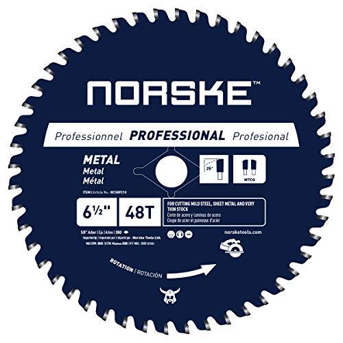 "Norske Tools NCSBP210 6-1/2"" x 48T Metal Cutting Saw Blade"