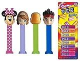 Pez Disney Junior Dispenser and Candy Refill Set