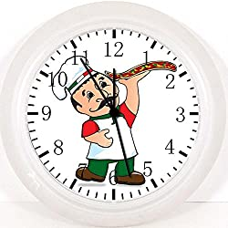 Italian Pizza Chef Wall Clock E317 Nice For Gift or Home Office Wall Decor 10