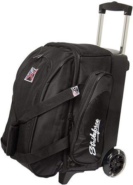 Grey//Black//Red KR Strikeforce LR2 Double Roller Bowling Bag