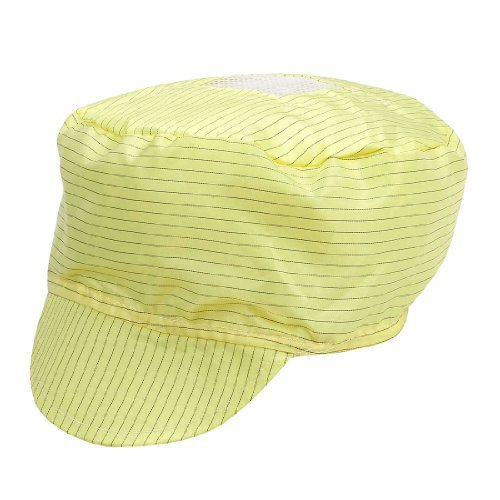 anti raya PC del Trabajo casquillo la Herramienta modelo del de sombrero de DealMux estático Negro Amarillo Hombre Mujer visera f7xSqwP