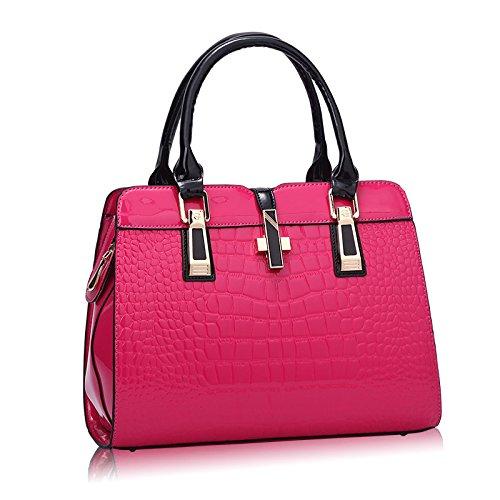 bag package Pipulade the red leather handbag Threaded El rojo paint Animal female single shoulder BBRxzHTq
