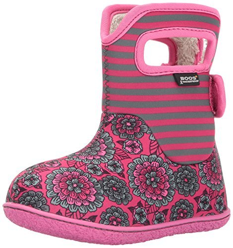 Bogs Baby Pansy Boot Pink Multi 8