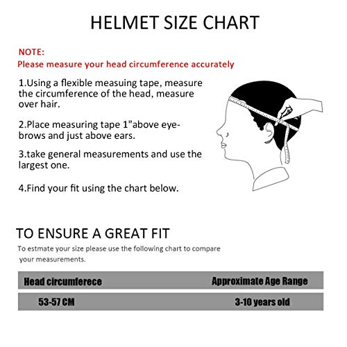 BOSONER Kids Cycle Bike Helmet, Adjustable for Toddler Multi Sport BMX  Bicycle Helmet, Sports Safety Protective Helme for Mountain Bike Skateboard