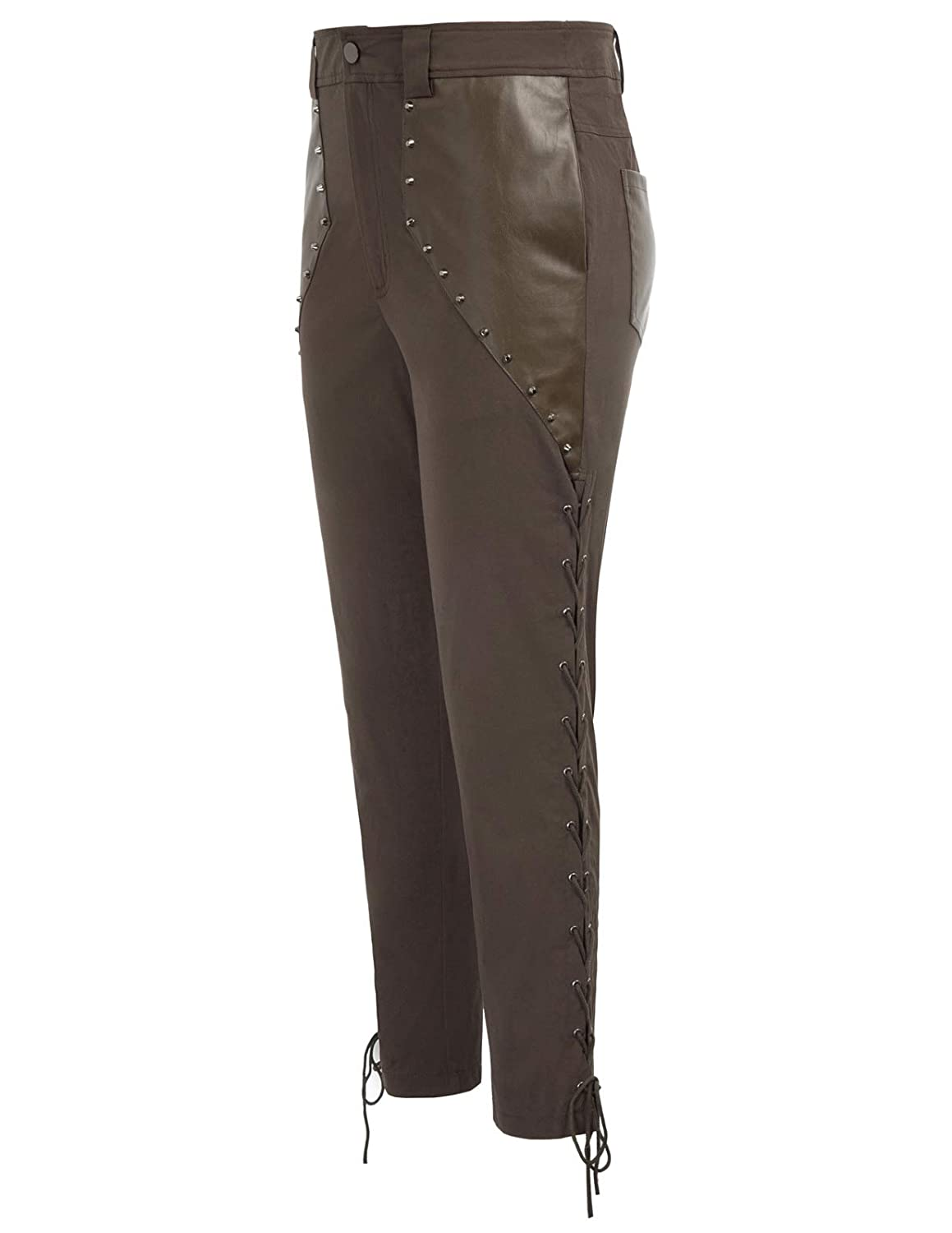 68b70a1040 SCARLET DARKNESS Men's Pirate Renaissance Trousers Steampunk Costume Pants