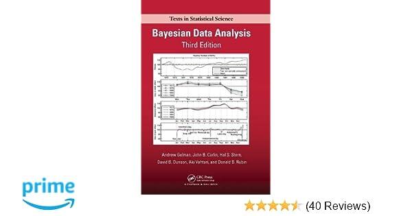 Amazon bayesian data analysis chapman hallcrc texts in amazon bayesian data analysis chapman hallcrc texts in statistical science 9781439840955 andrew gelman john b carlin hal s stern fandeluxe Gallery