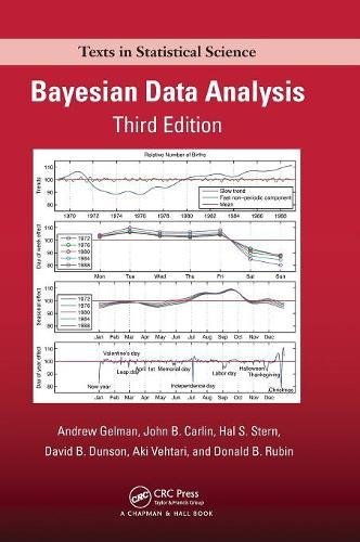 Bayesian Data Analysis (Chapman & Hall/CRC Texts in Statistical Science)