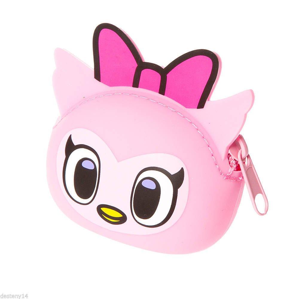 Neon Star Tokidoki Pink Owl Silicone Coin Purse