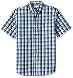 #2: Dockers Men's Comfort Stretch Soft No Wrinkle Short Sleeve Button Front Shirt