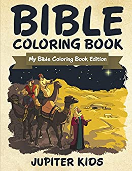 Bible Coloring Book My Edition Religious And Art Series