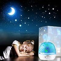 Actualización] Proyector de Luz para Bebés, AsperX 4 en 1 LED Luz ...