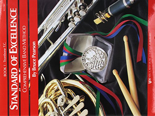 - W21TBG - Standard of Excellence Book 1 Book Only - Trombone T.C.