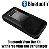 Bluetooth Car Kit Speakerphone with Multi-point, Echo Cancellation & Noise Suppression for all LG phones.