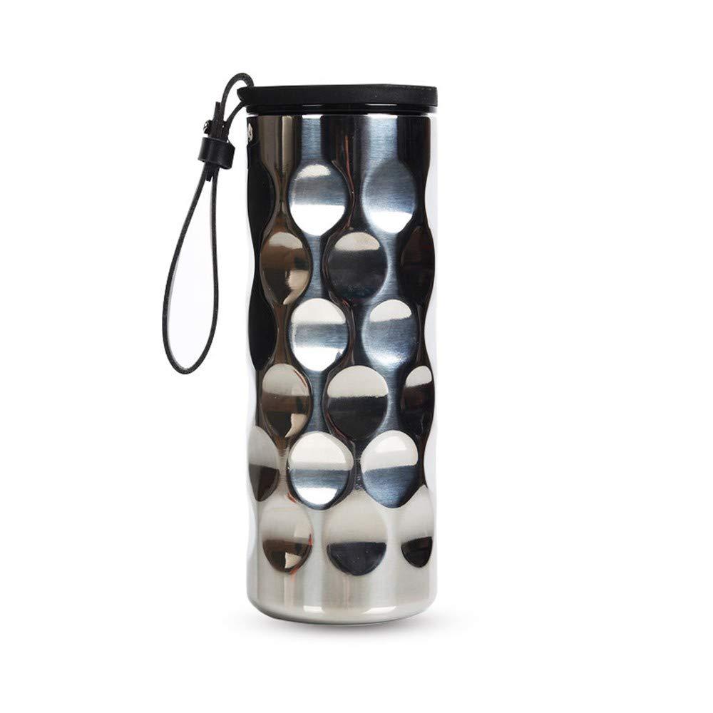 Lianaic thermosbecher Vakuum Edelstahl Isolierflasche Mode Isolierung Tasse Student Auto Tasse