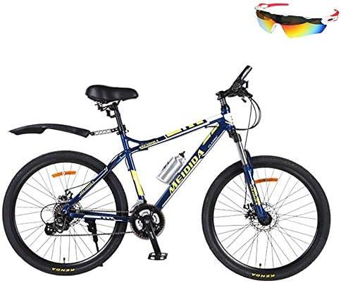 AI-QX Bicicleta De Montaña Frenos De Doble Disco Amortiguador De ...