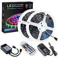 SPARKE DreamColor Led Strip Lights, 32.8ft/10m Music Sync LED Light, Waterproof RGB 300Leds SMD5050 Flexible Strip…