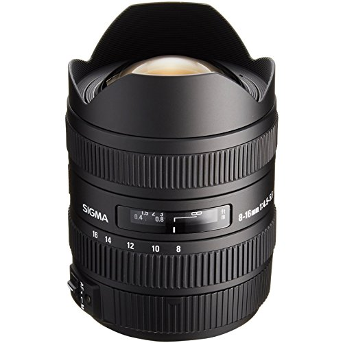 Sigma 8-16mm f/4.5-5.6 DC HSM Ultra-Wide Zoom Lens with Sling Backpack + Kit for Nikon Digital SLR Cameras