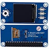 OLED Expansion Board for Raspberry, 1.3 inch OLED Display HAT Expansion Board for Raspberry Pi 2B/3B/Zero/Zero W