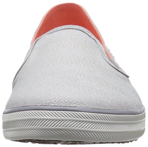 Gray Women's Fashion Keds Crashback Drizzle Chambray Stripe Sneaker qCFF0wfx6