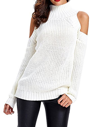 Thing need consider when find white cold shoulder sweaters for women?