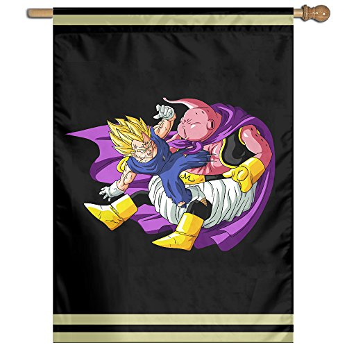 [DIANA Dragon Character Ball Home Garden Flags Outside Banner-27'37' Inch Polyester Banner] (4 Star Dragonball Costume Color)
