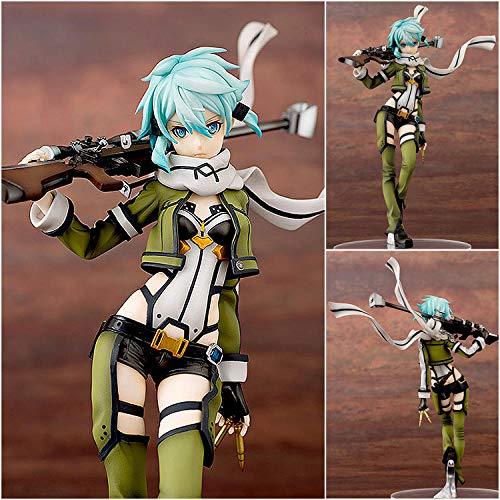 MNZBZ Anime Chaud Sword Art Online (SAO) Figurine Sinon Gun Gale Online (GGO) Personnages Shino Asada Jouets