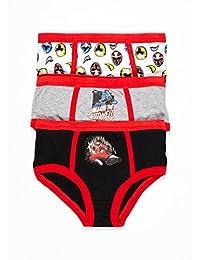 Power Rangers Boys Underwear | Briefs 3-pack Size 4T