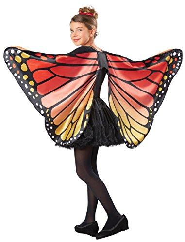Seasons Kids Monarch Butterfly Cape Wings, One Size]()