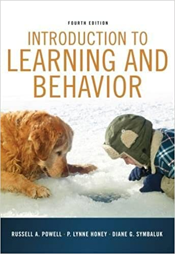 Amazon introduction to learning and behavior psy 361 introduction to learning and behavior psy 361 learning 4th edition fandeluxe Image collections