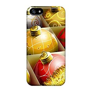 New Arrival Premium 5/5s Cases Covers For Iphone (hd Christmas Balls)