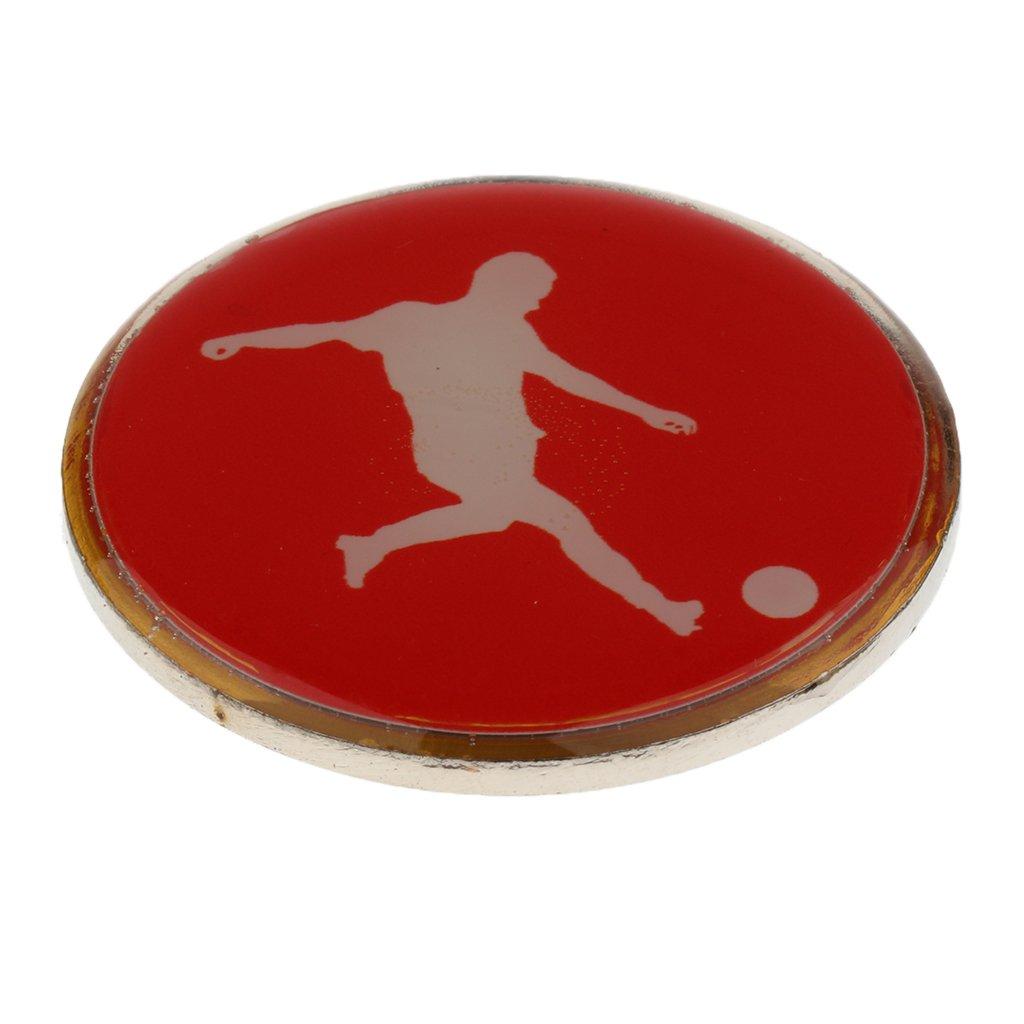 monkeyjack Soccer Football Refereeフリップ/トスコイン B0782S4B7W