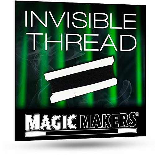 Magic Makers Invisible Thread - Used for Performing Levitation Magic Tricks -